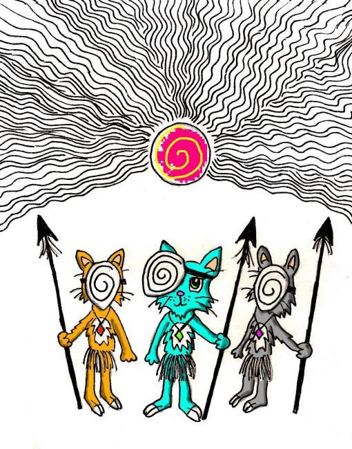 tribal cats 2